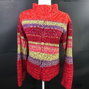 Sigrid Olsen Women's Hand Knit Sweater - No Tag